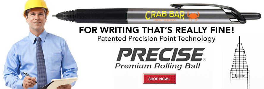 Promotional Pilot Precise Pens Custom Printed with Logo for Advertising