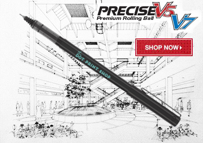 Pilot Precise V5 V7 Promotional Pens Custom Printed with Logo for Advertising